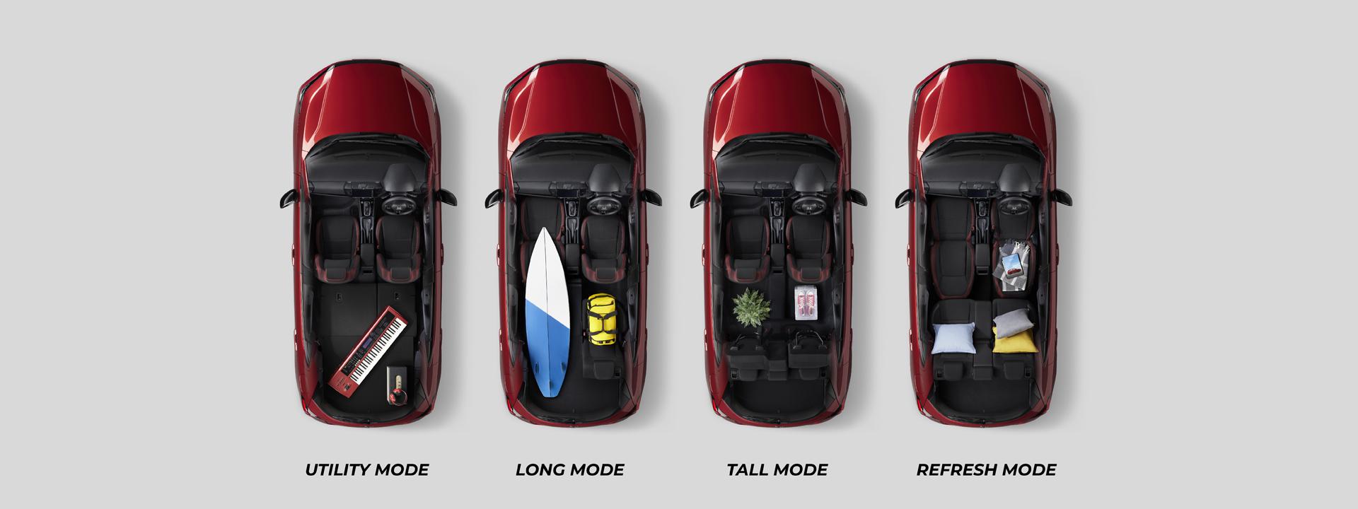 Honda City Hatchback Ultra Seats